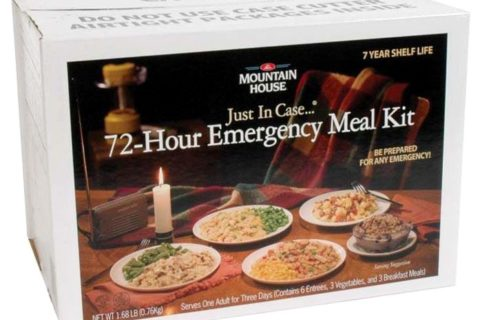 Mountain House 72 Hour Emergency Meal Kit: Only $59!