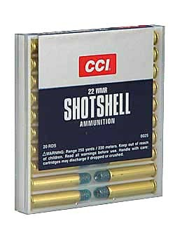 CCI/Speer, Shotshell,  22WMR, 52Gr, #12 Shot, 20 Rounds