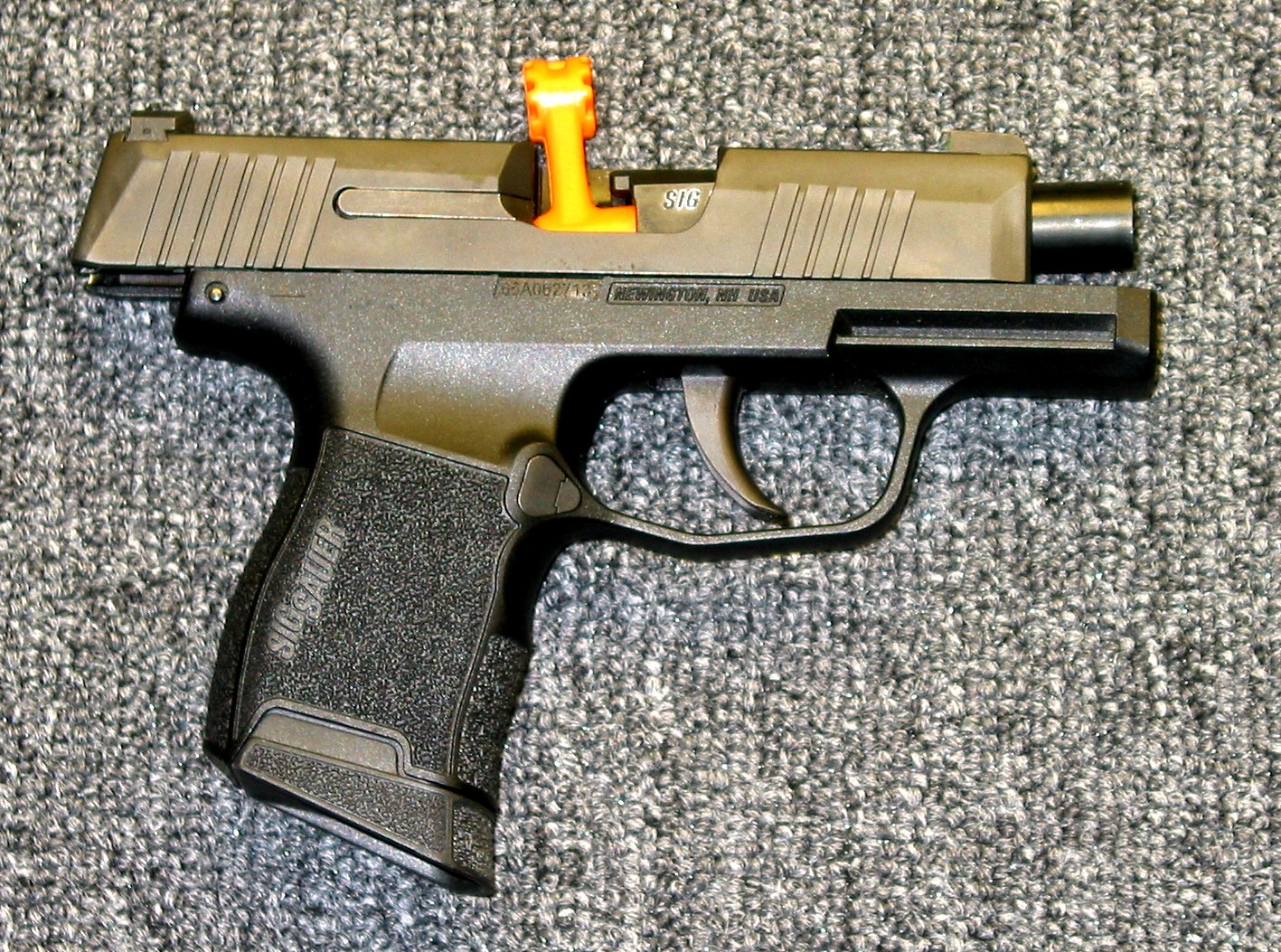 Preowned Sig Sauer P365, 9mm, 3 1″ Barrel, 10 Rounds, 2